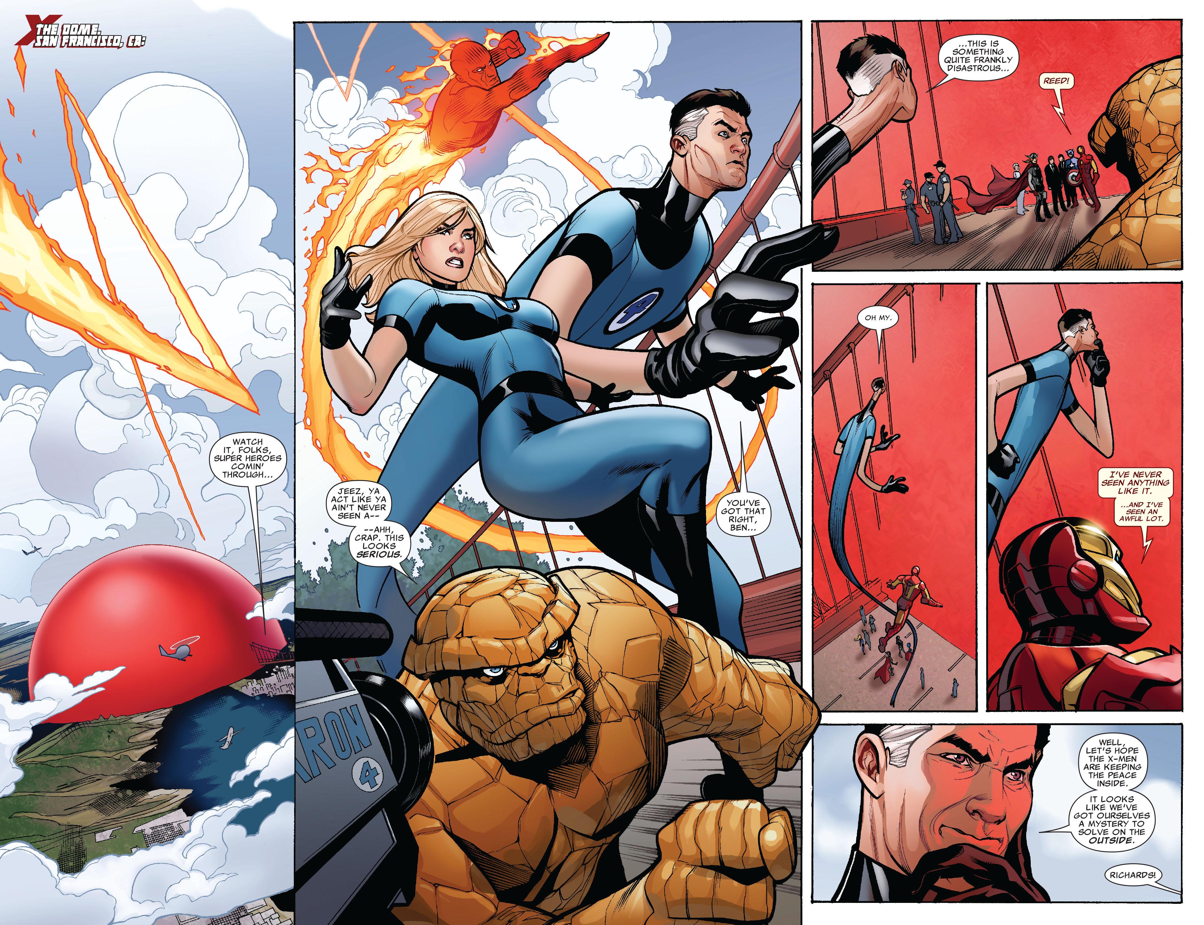 Read online Uncanny X-Men (1963) comic -  Issue #525 - 6