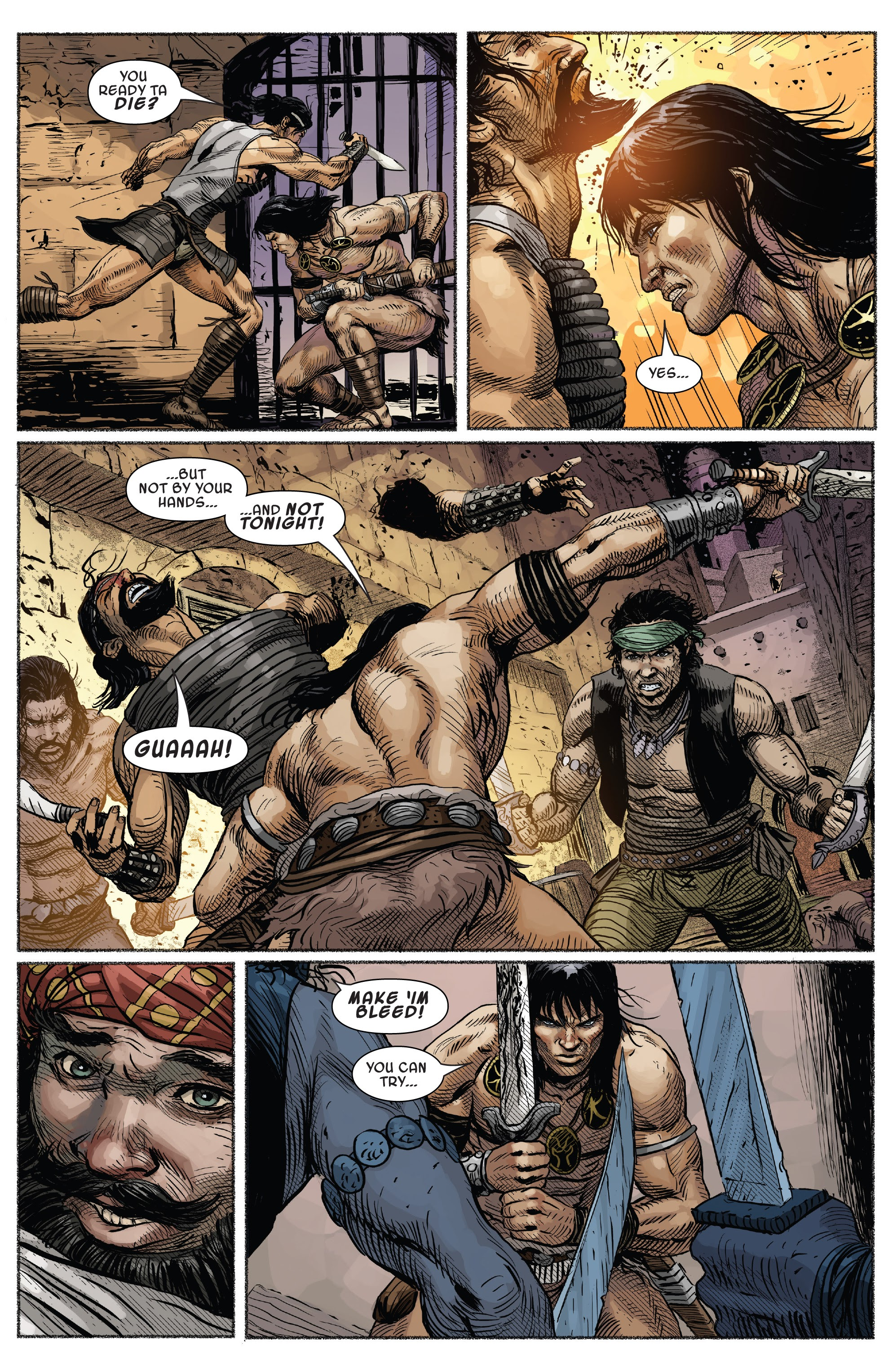 Read online Savage Sword of Conan comic -  Issue #7 - 6