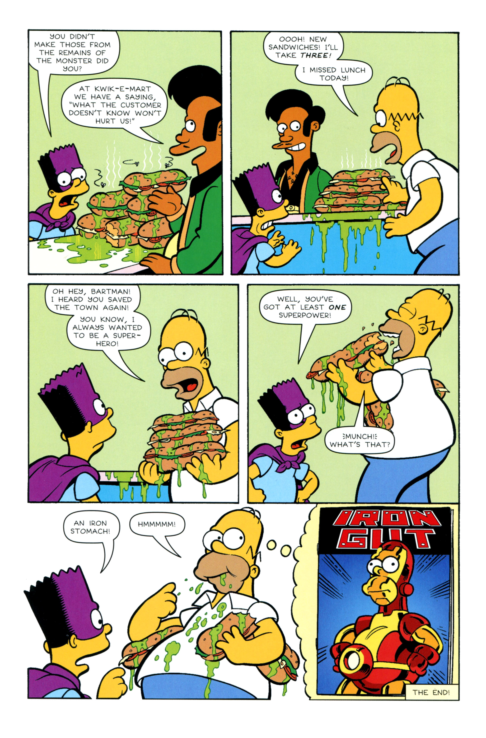 Read online Simpsons Illustrated (2012) comic -  Issue #12 - 44