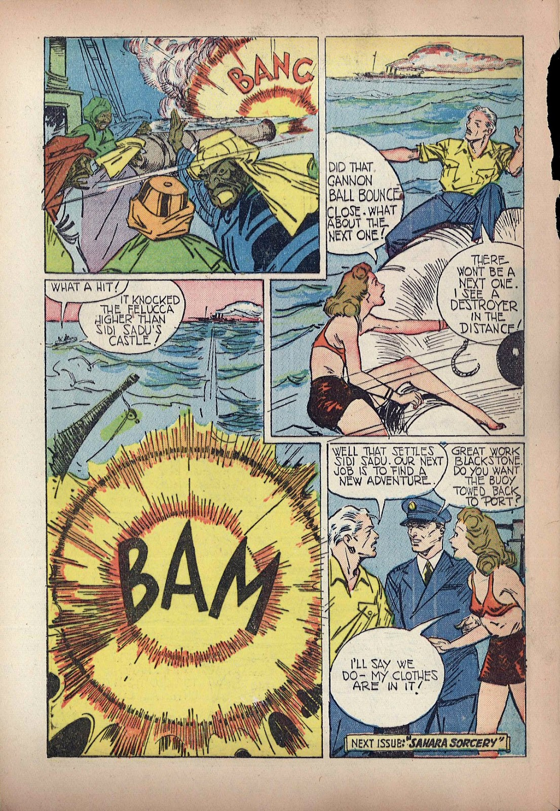 Read online Super-Magician Comics comic -  Issue #20 - 54