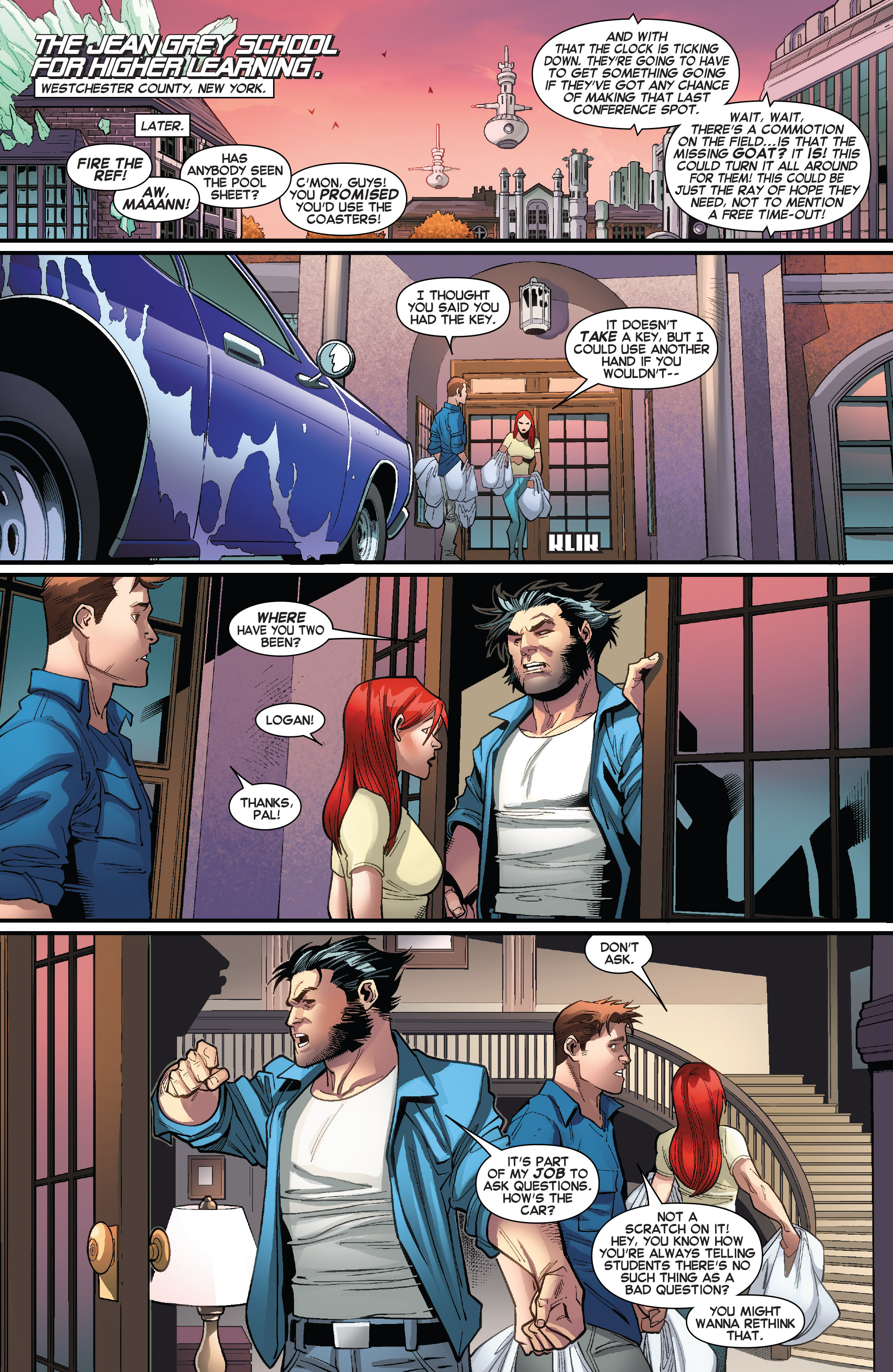 Read online Amazing X-Men (2014) comic -  Issue #7 - 21