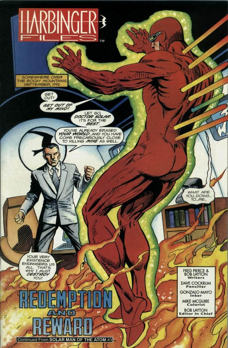 Read online Harbinger Files comic -  Issue #1 - 2