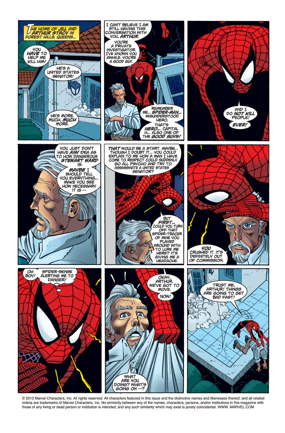 The Amazing Spider-Man (1999) 23 Page 1