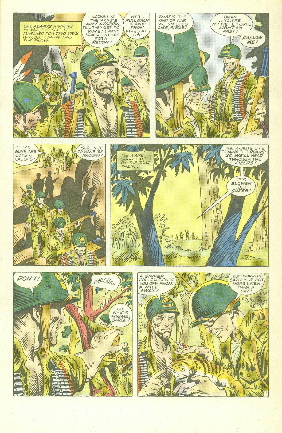 Read online Sgt. Rock comic -  Issue #409 - 16