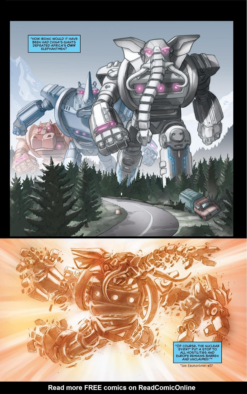 Read online Elephantmen 2261 Season Two: The Pentalion Job comic -  Issue # TPB - 18
