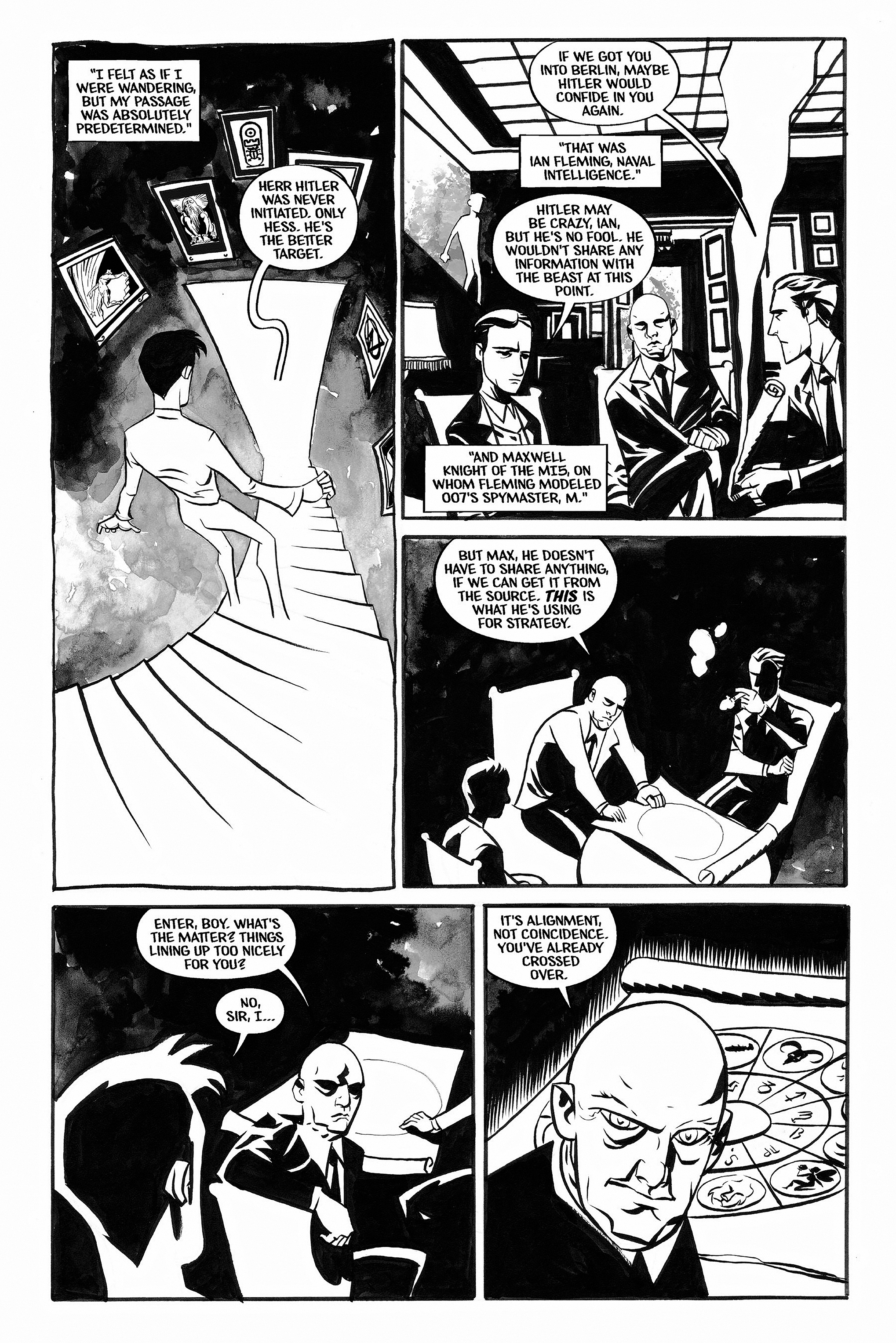 Read online Aleister & Adolf comic -  Issue # TPB - 28
