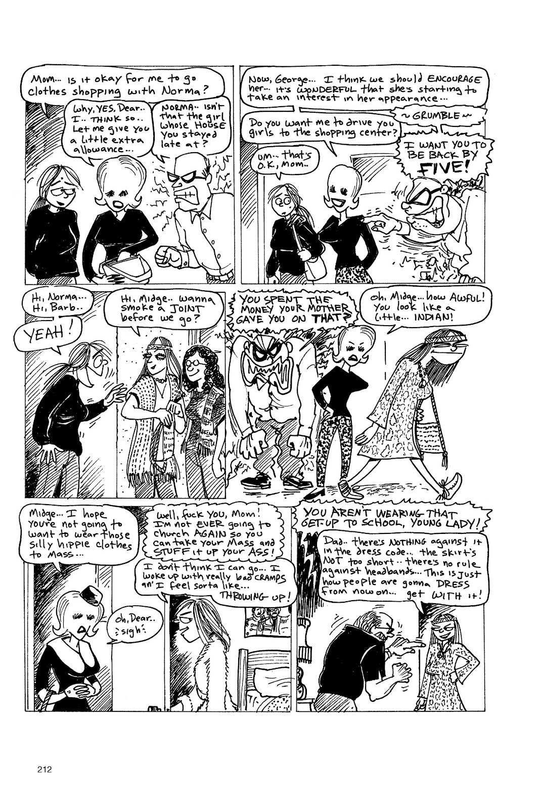 Read online Life's a Bitch: The Complete Bitchy Bitch Stories comic -  Issue # TPB (Part 3) - 7