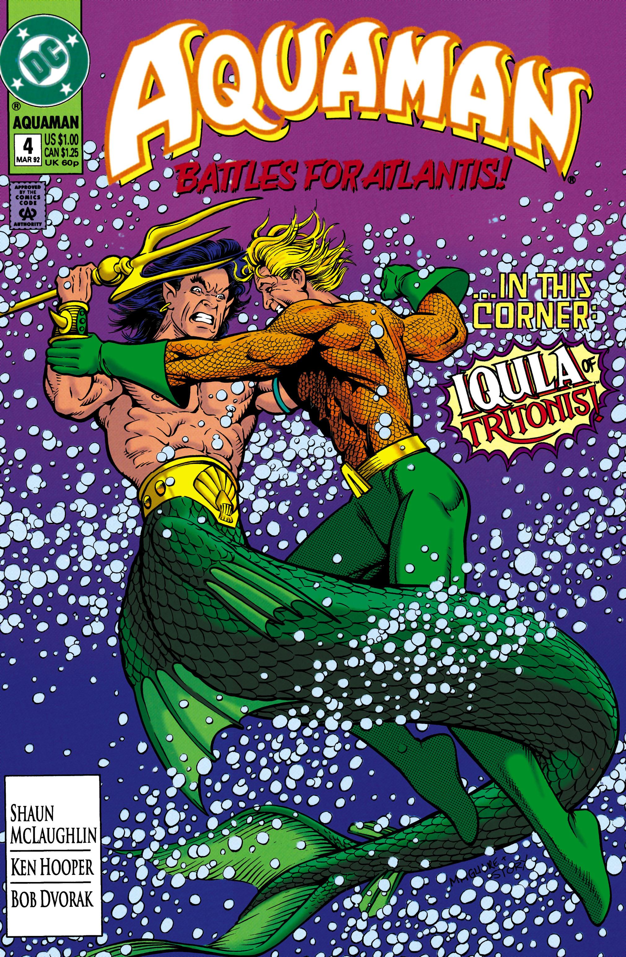 Aquaman (1991) 4 Page 1