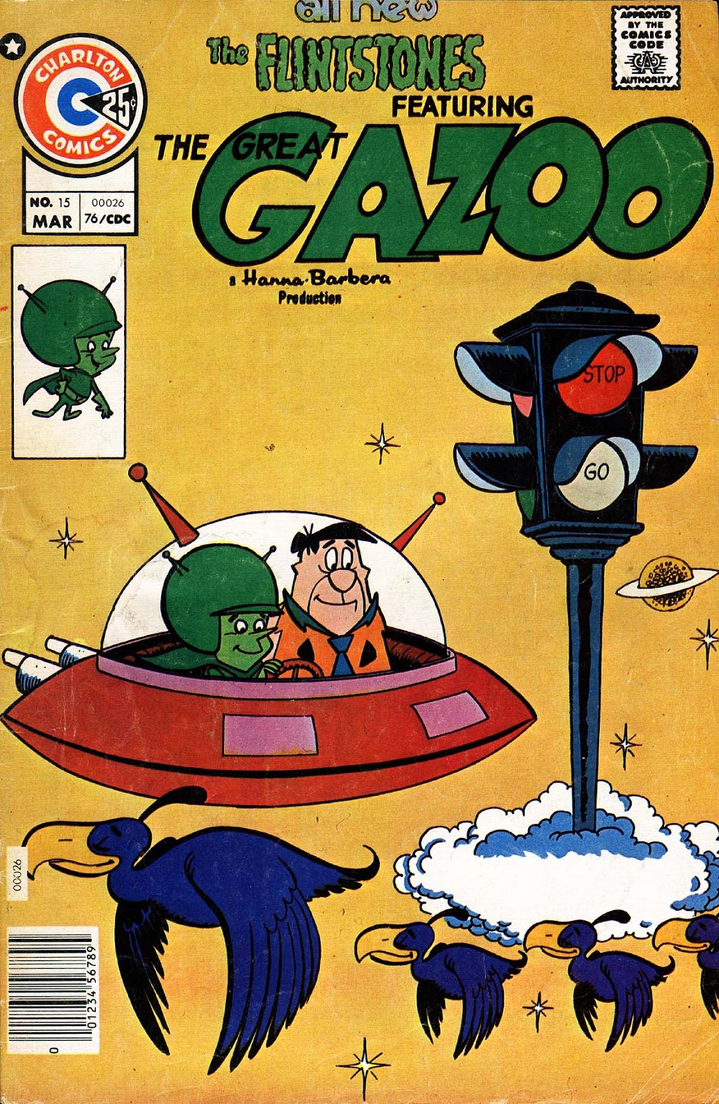 Great Gazoo issue 15 - Page 1