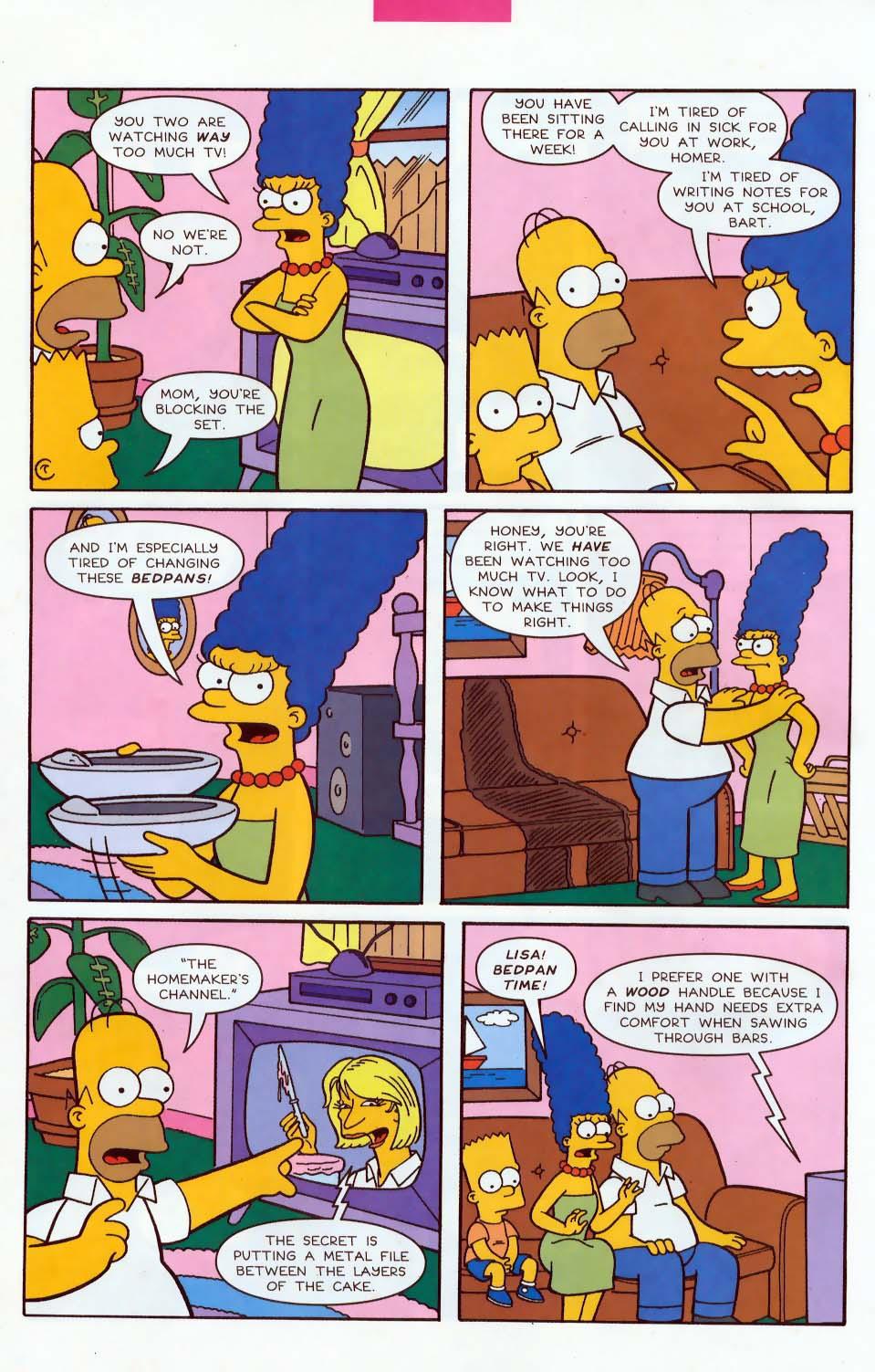 Read online Simpsons Comics comic -  Issue #85 - 9