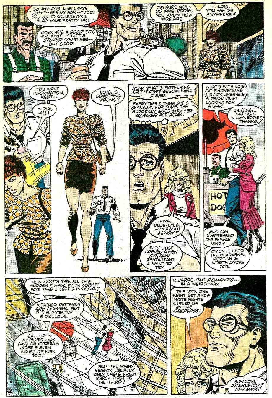 Read online Adventures of Superman (1987) comic -  Issue #431 - 8