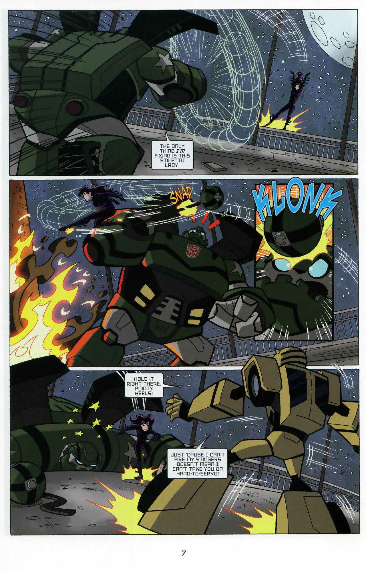 Read online Transformers Animated: The Arrival comic -  Issue #3 - 9
