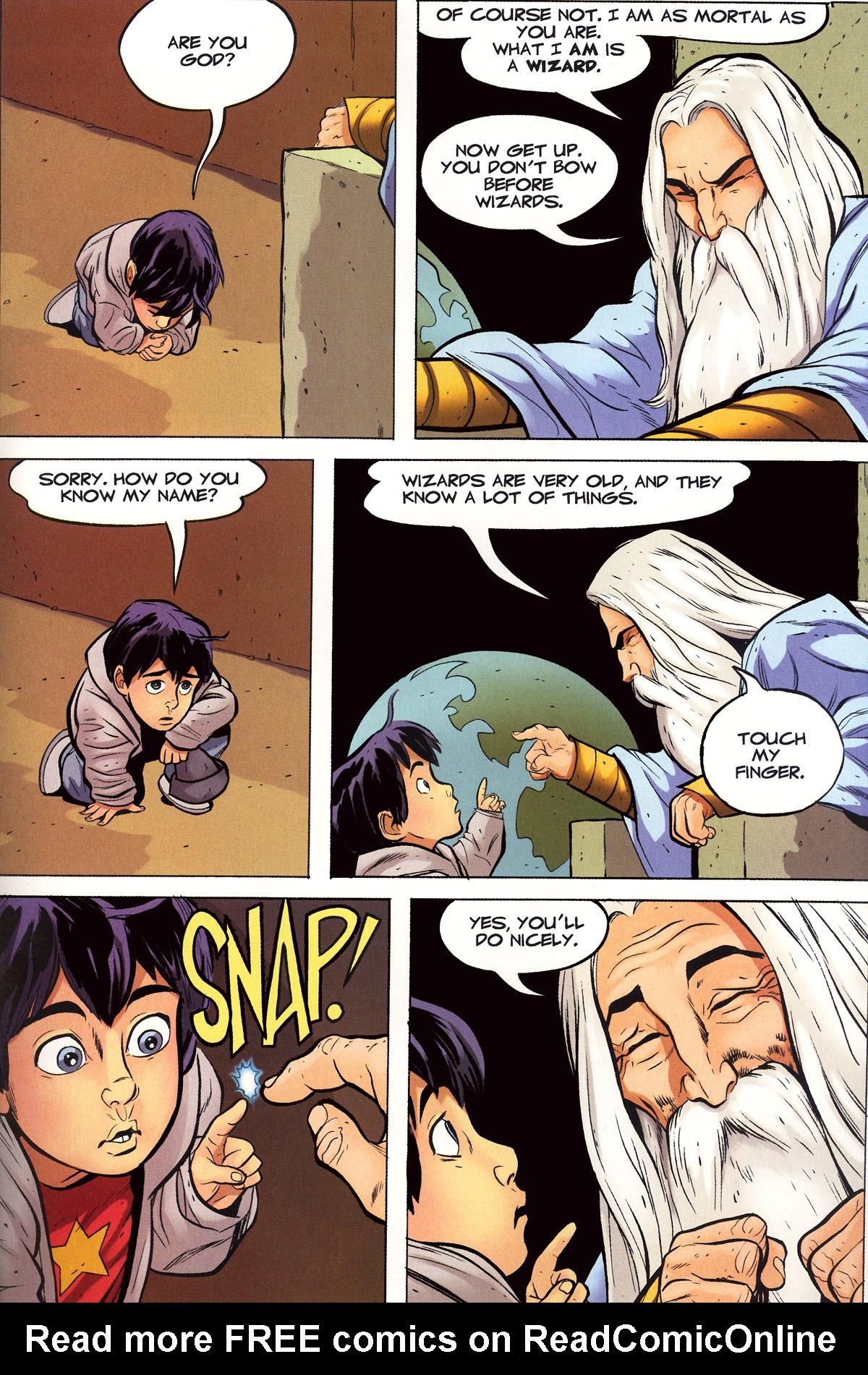 Read online Shazam!: The Monster Society of Evil comic -  Issue #1 - 20