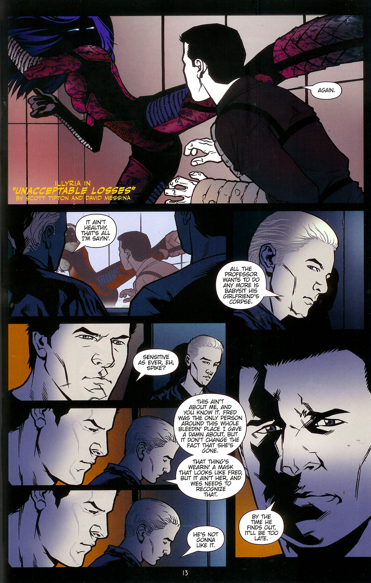Read online Angel: Masks comic -  Issue # Full - 15