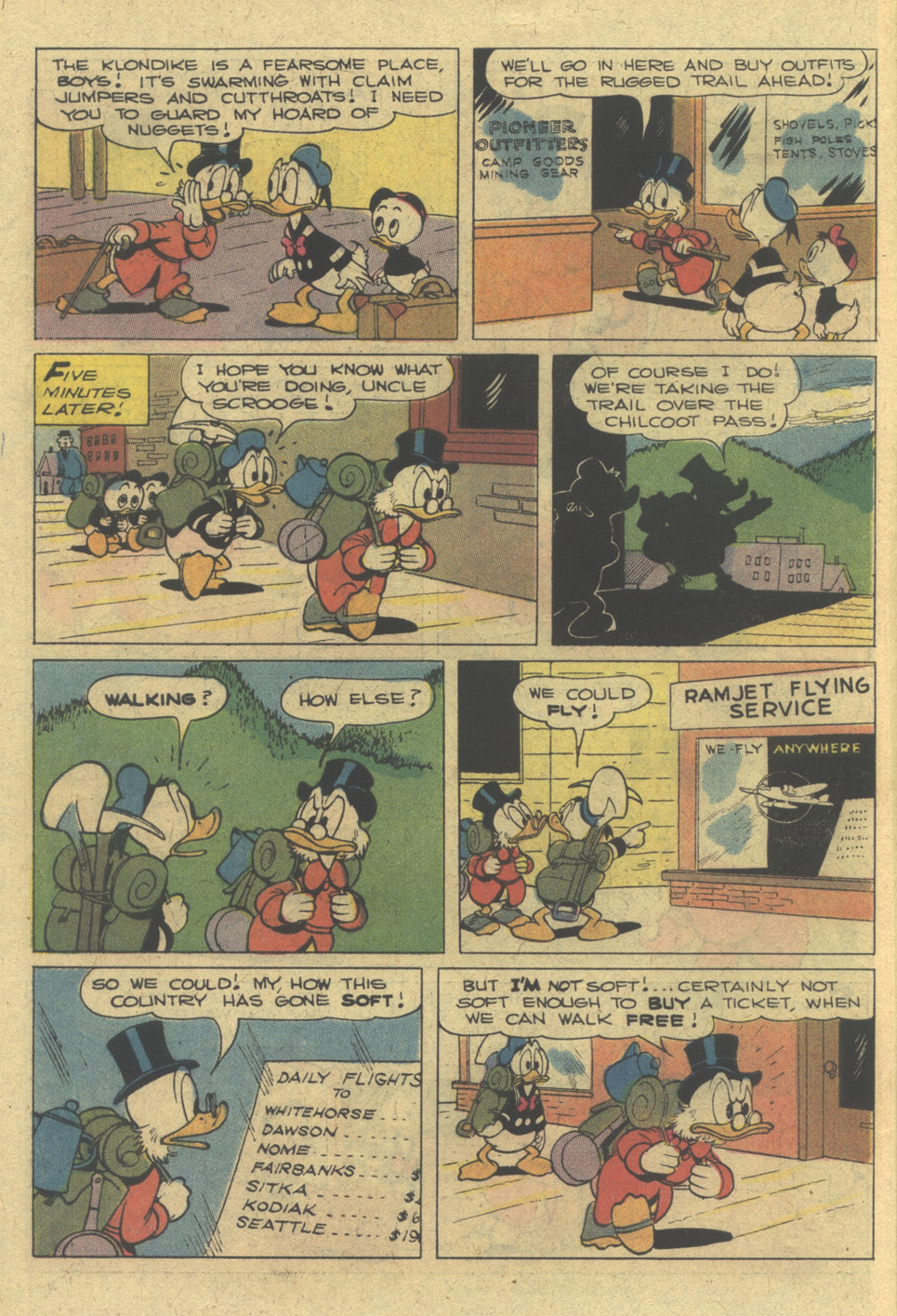 Read online Uncle Scrooge (1953) comic -  Issue #142 - 10