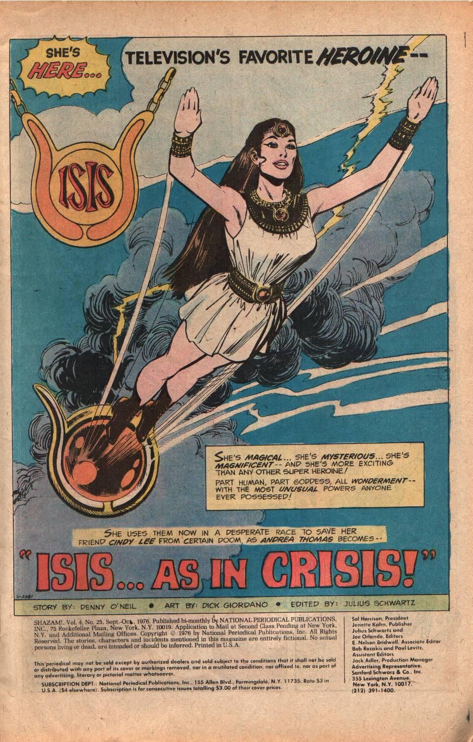 Read online Shazam! (1973) comic -  Issue #25 - 3