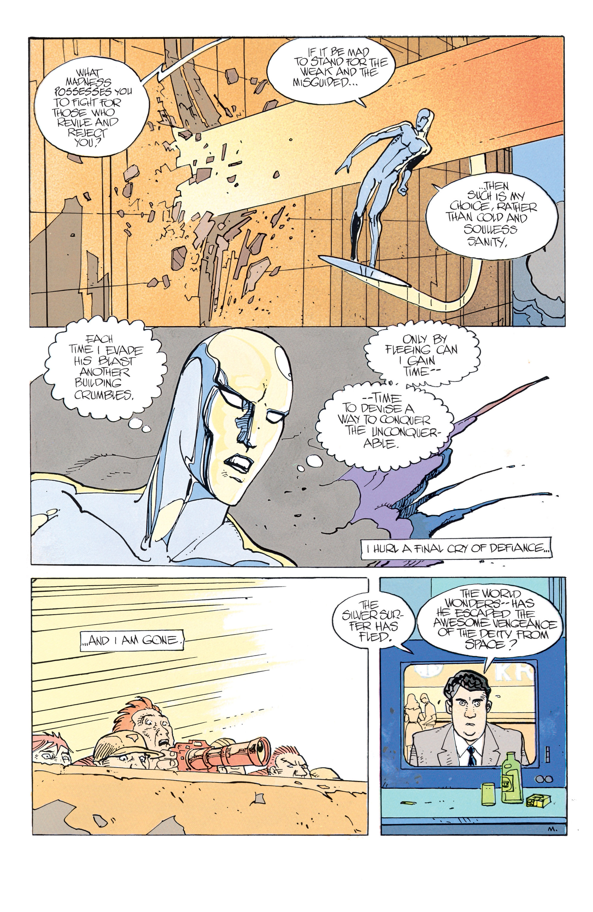 Read online Silver Surfer: Parable comic -  Issue # TPB - 33