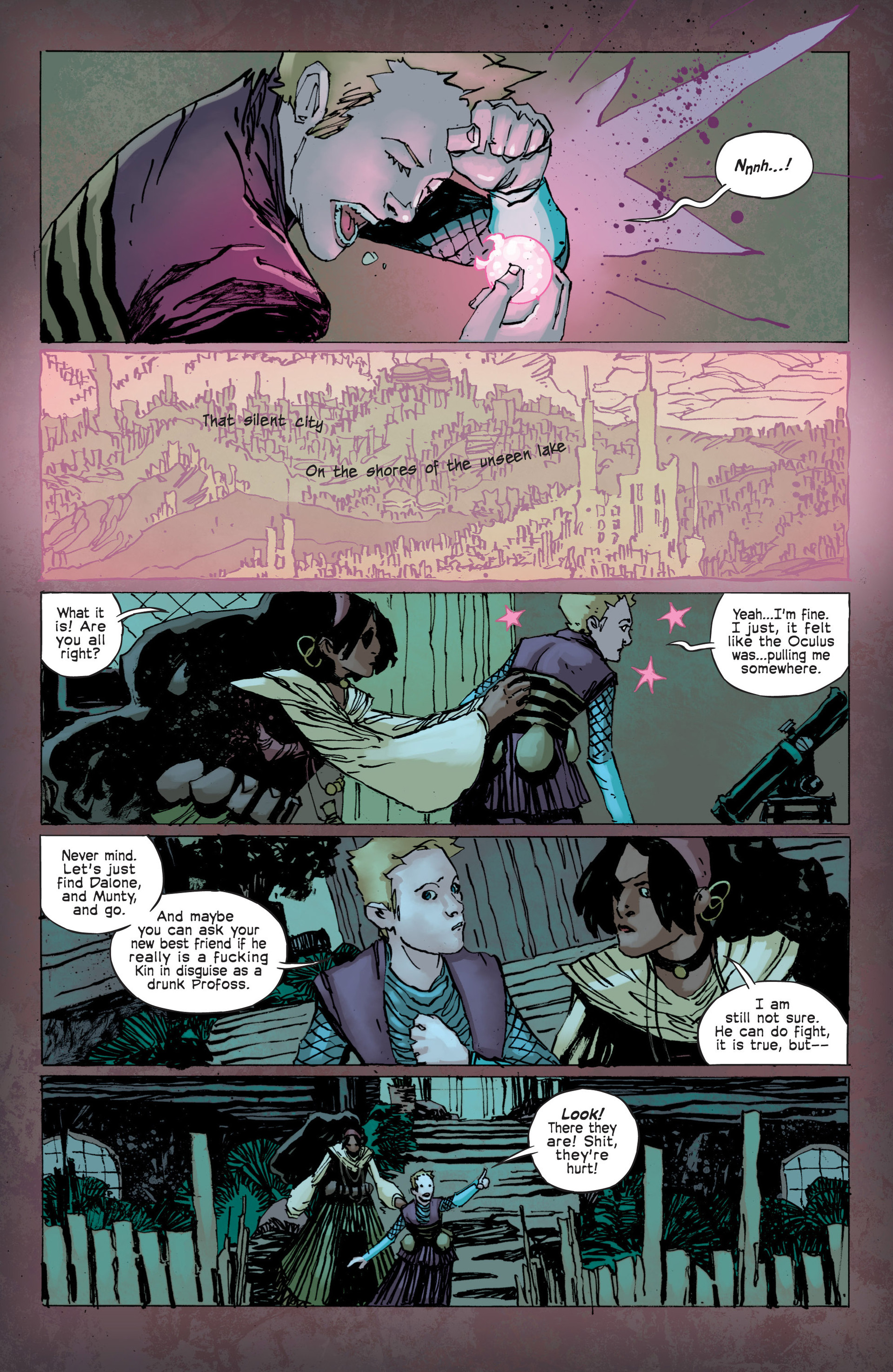 Read online Umbral comic -  Issue #12 - 16