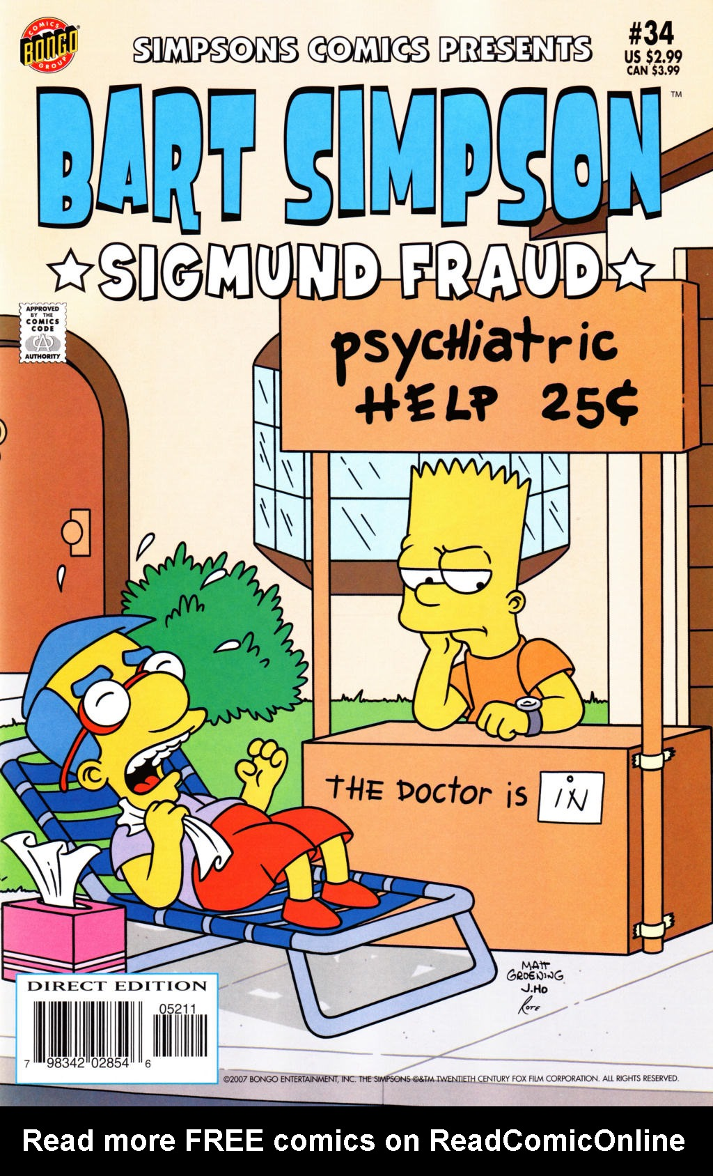 Read online Simpsons Comics Presents Bart Simpson comic -  Issue #34 - 1