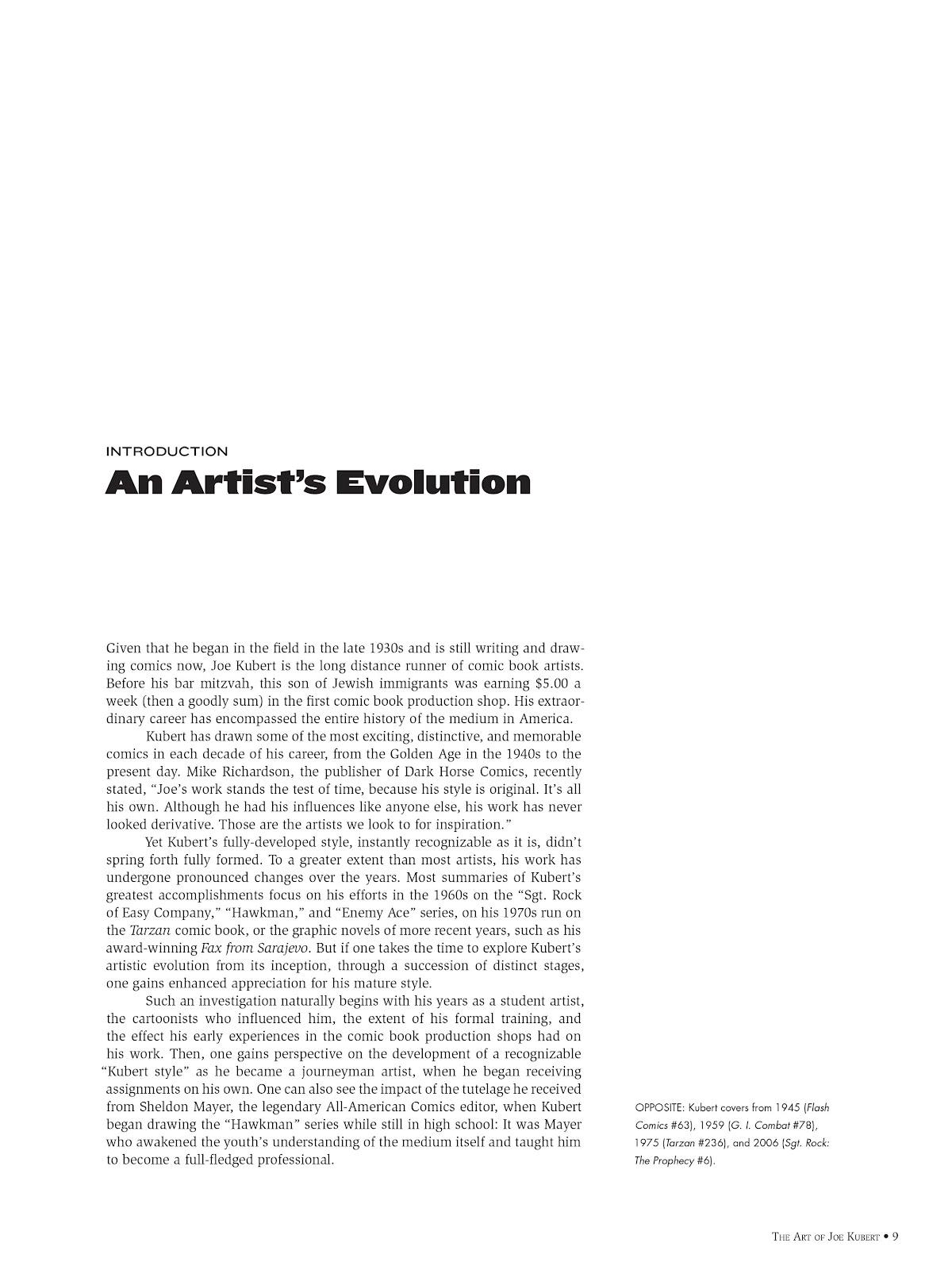 Read online The Art of Joe Kubert comic -  Issue # TPB (Part 1) - 10