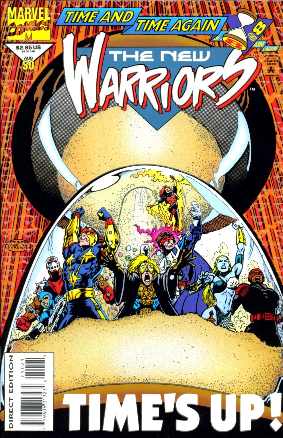 The New Warriors Issue #50 #54 - English 1
