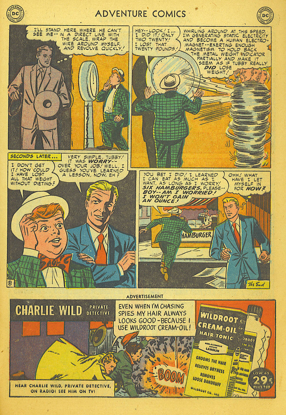 Read online Adventure Comics (1938) comic -  Issue #169 - 31