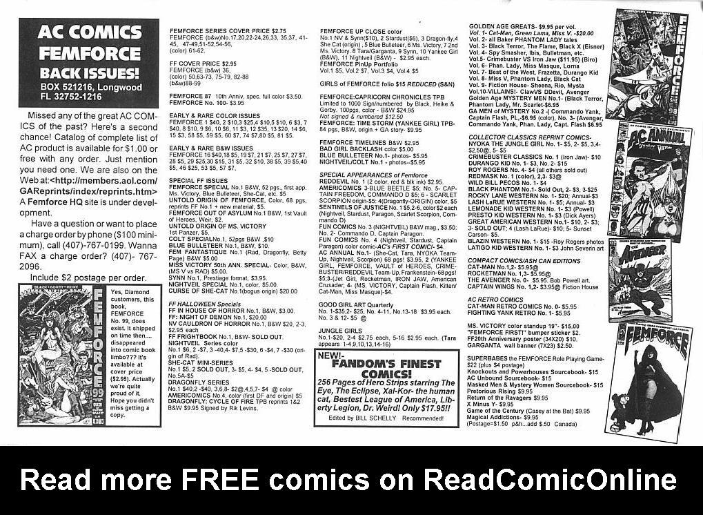 Femforce Issue #101 #101 - English 44