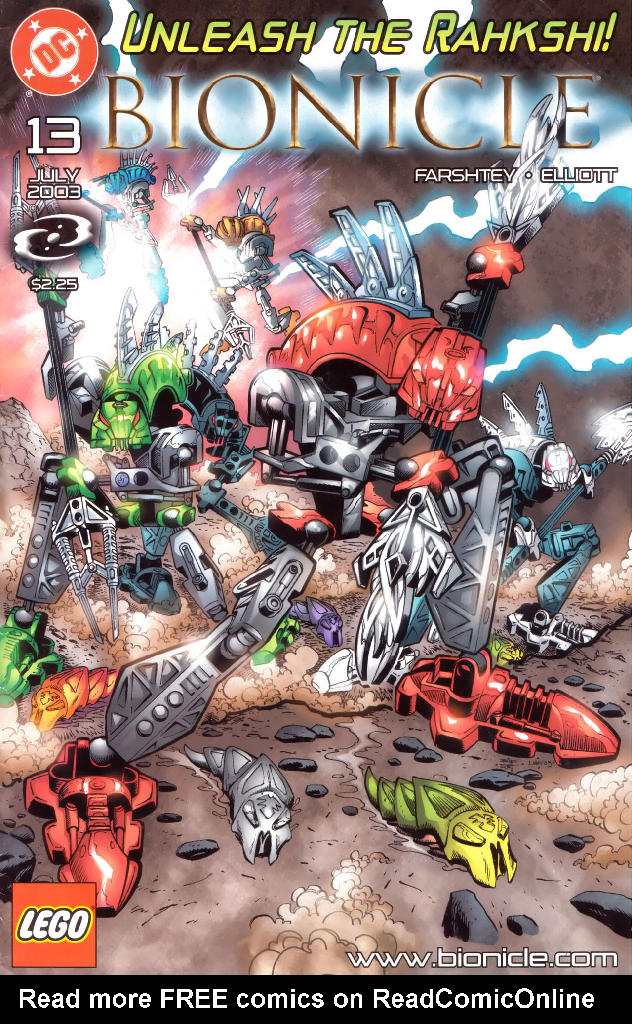 Bionicle 13 Page 1