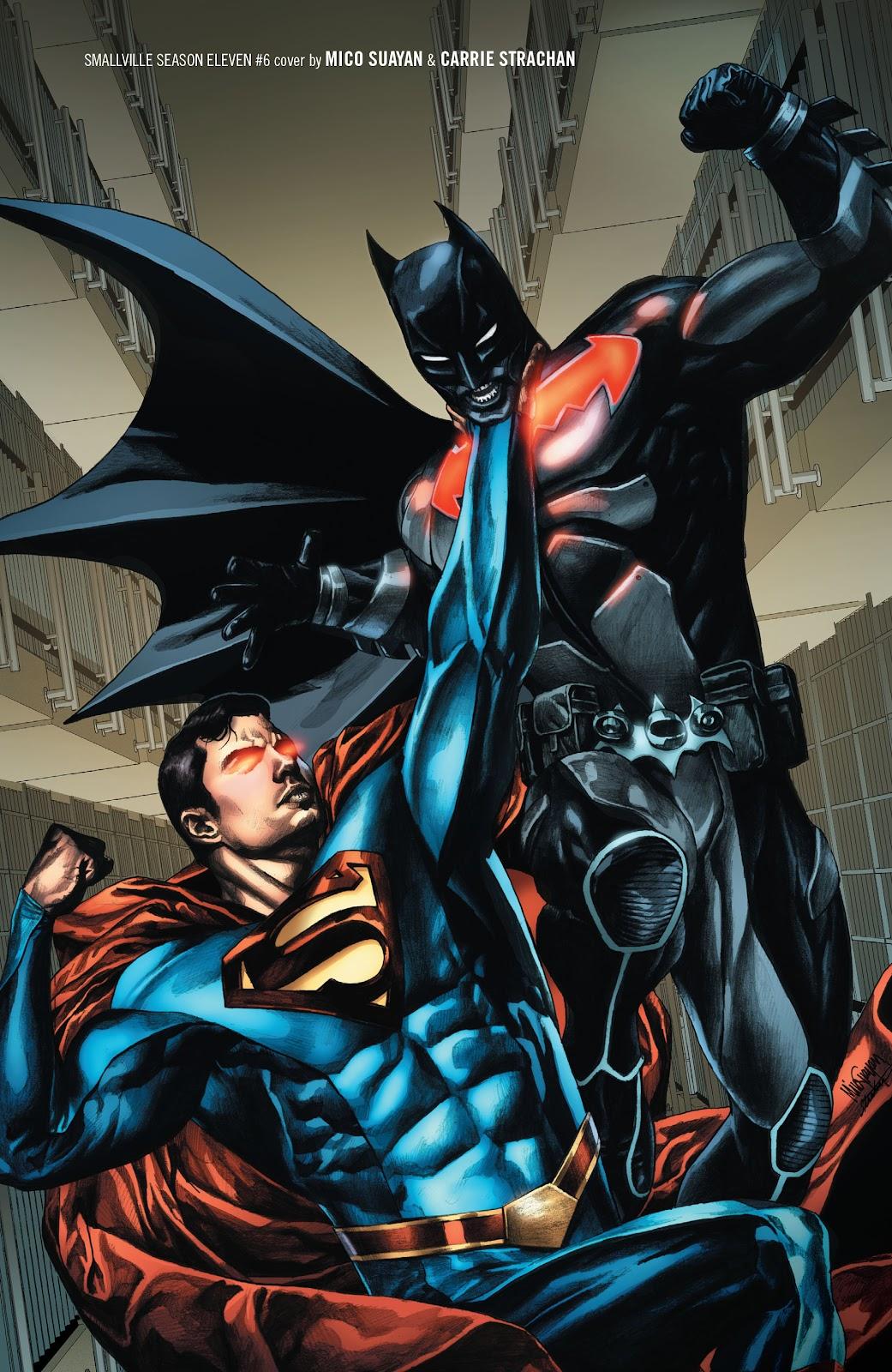 Read online Smallville Season 11 [II] comic -  Issue # TPB 2 - 37