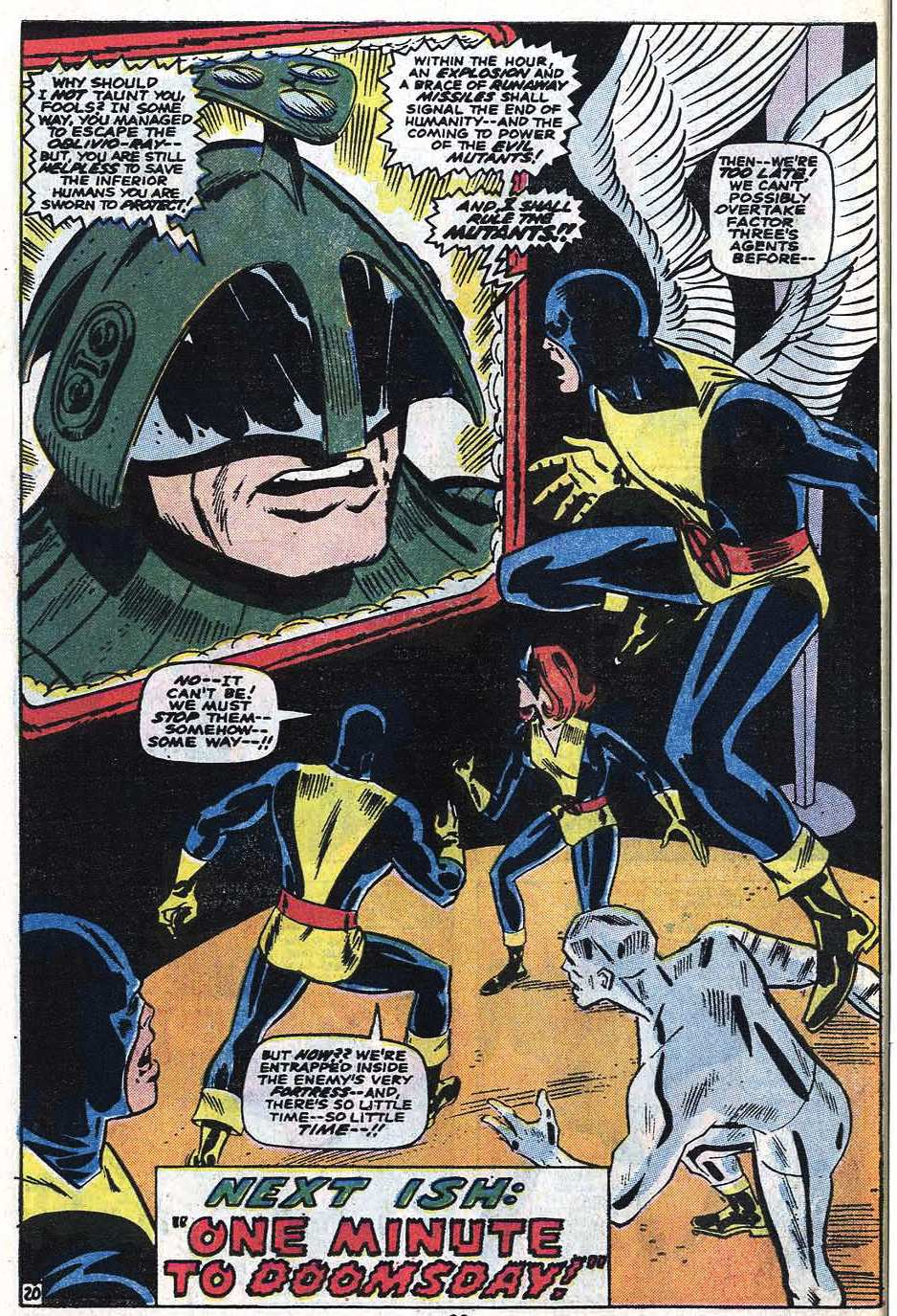 Read online Uncanny X-Men (1963) comic -  Issue #85 - 34