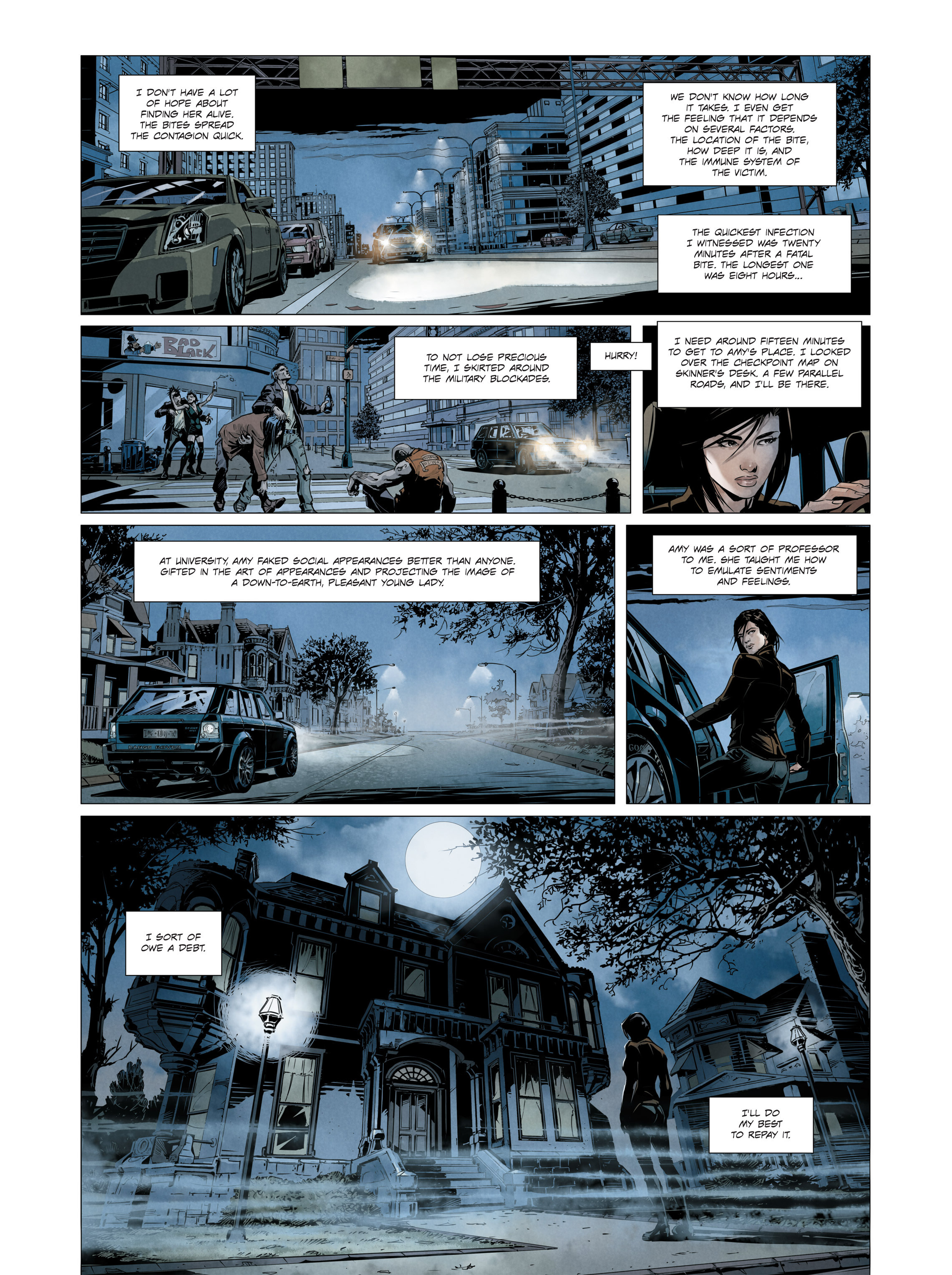 Read online Alice Matheson comic -  Issue #3 - 21