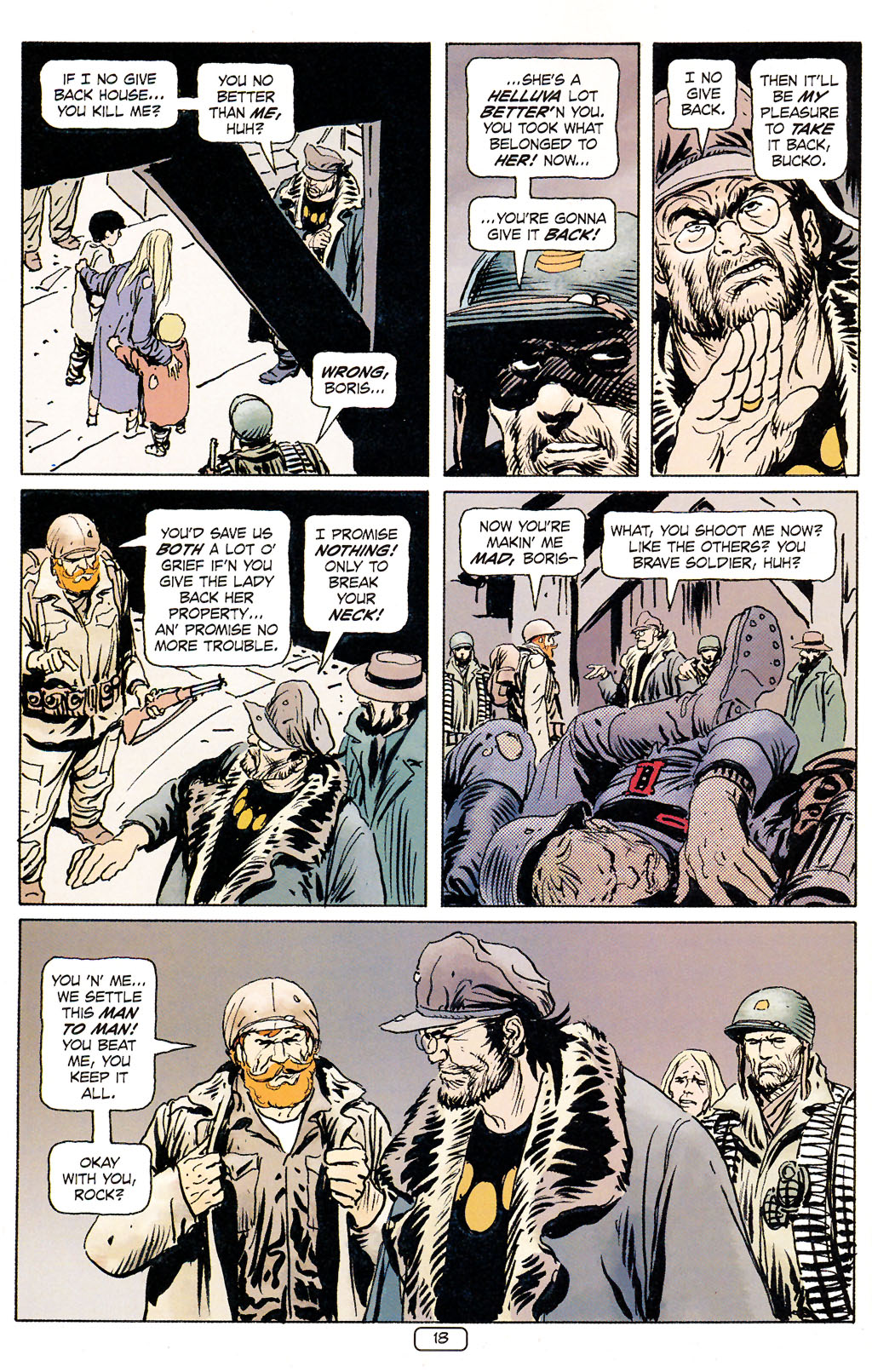 Read online Sgt. Rock: The Prophecy comic -  Issue #5 - 18