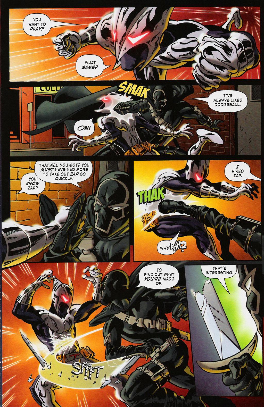 Read online ShadowHawk (2005) comic -  Issue #3 - 5