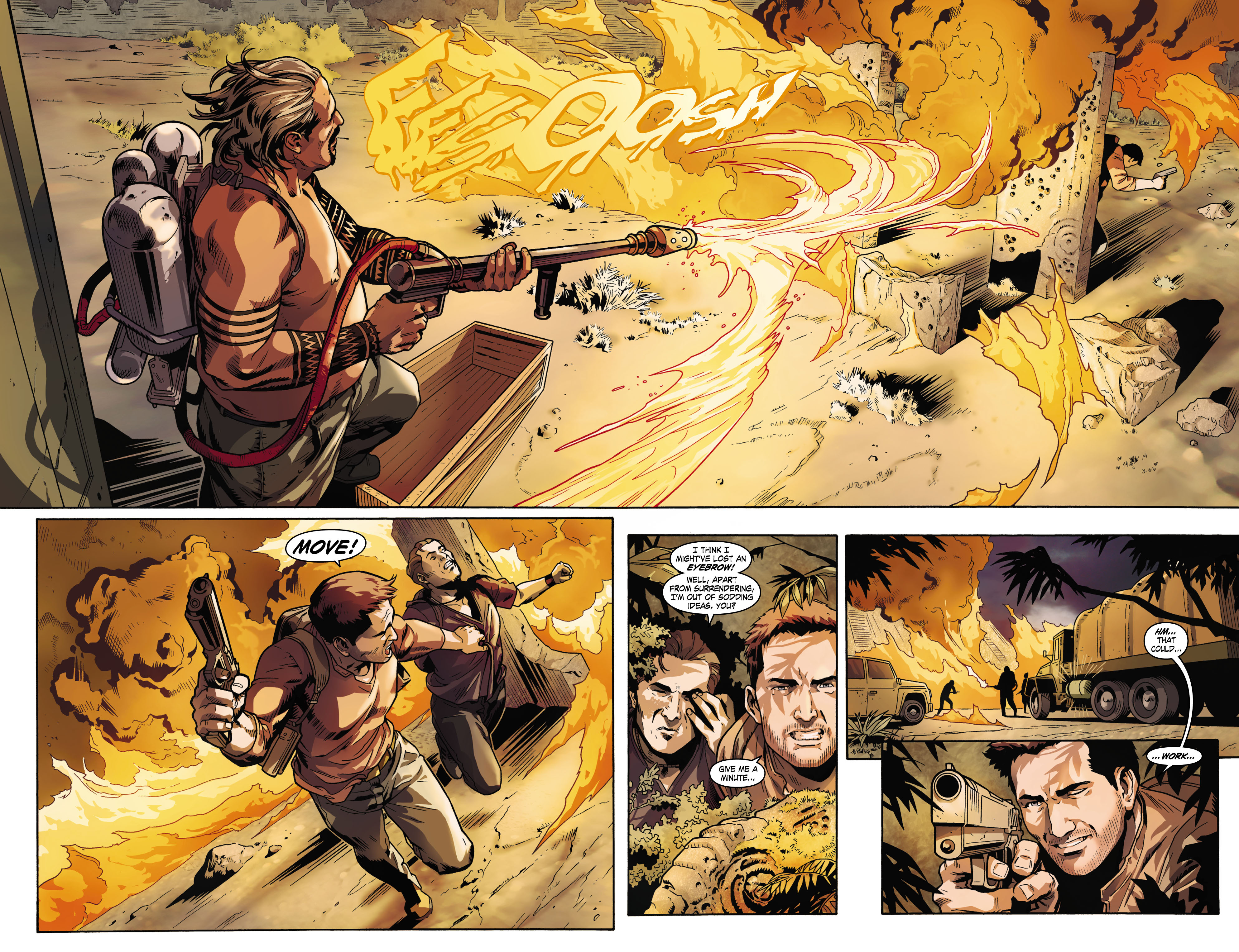 Read online Uncharted comic -  Issue #1 - 6
