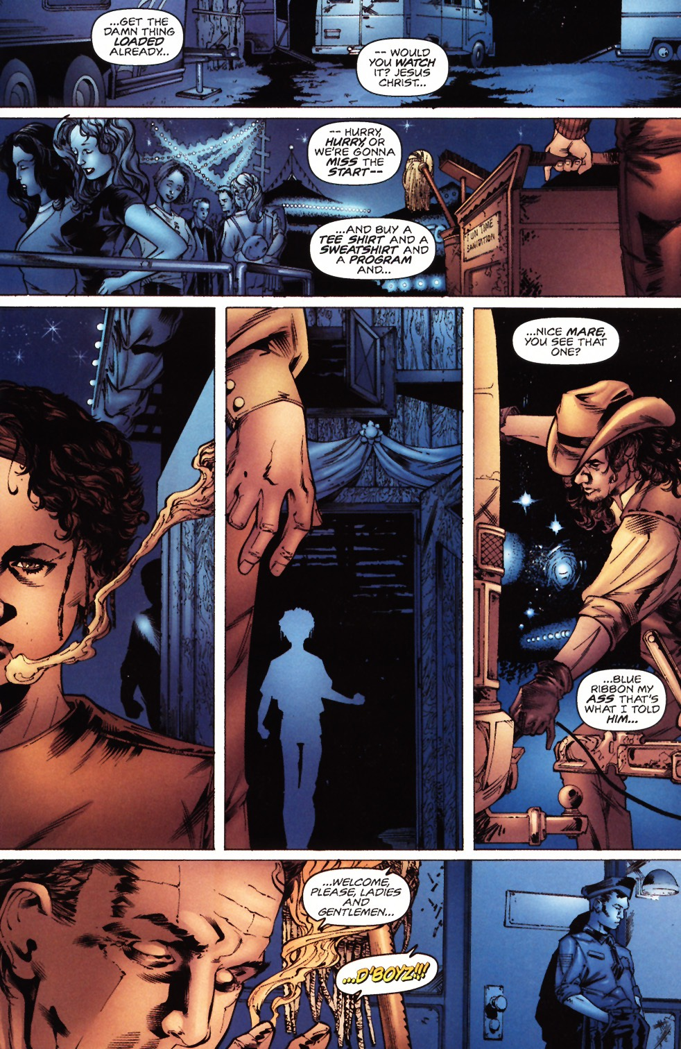 Read online Felon comic -  Issue #3 - 10