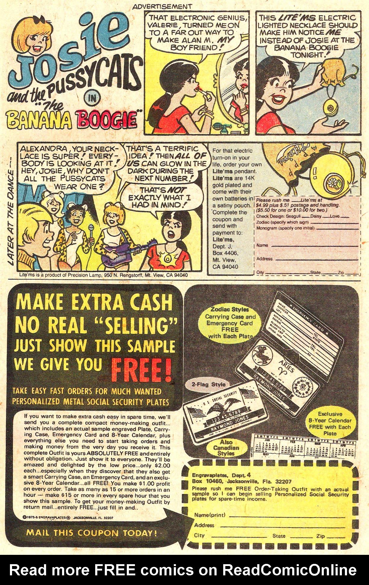 Read online She's Josie comic -  Issue #95 - 19