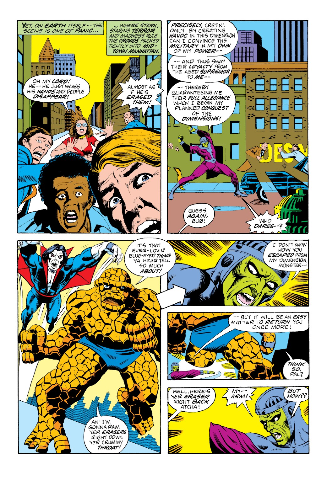 Read online Marvel Two-In-One Epic Collection: Cry Monster comic -  Issue # TPB (Part 4) - 26