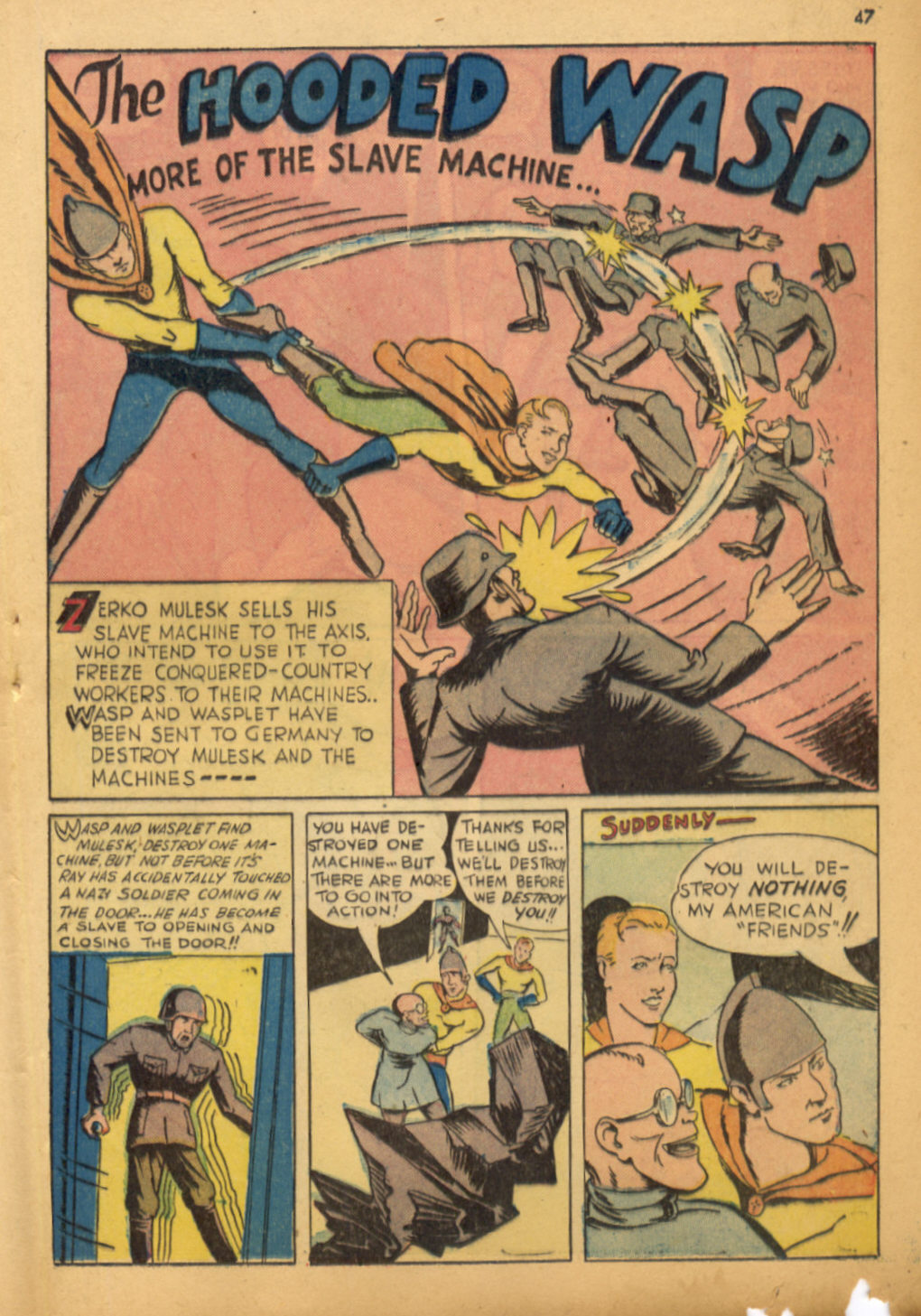 Read online Shadow Comics comic -  Issue #32 - 48