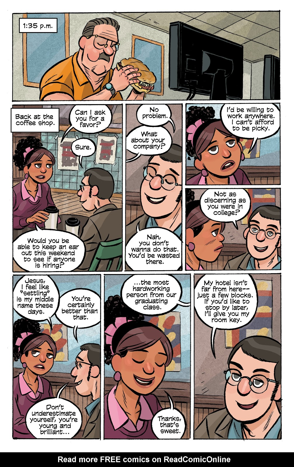 Read online Cellies comic -  Issue #8 - 15