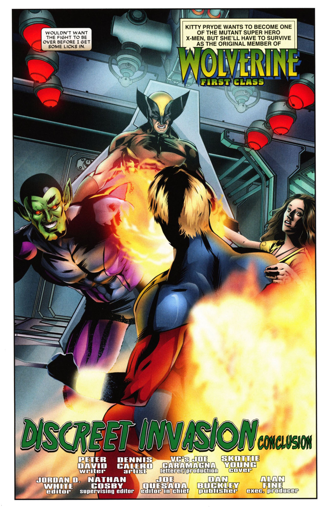 Read online Wolverine: First Class comic -  Issue #20 - 4
