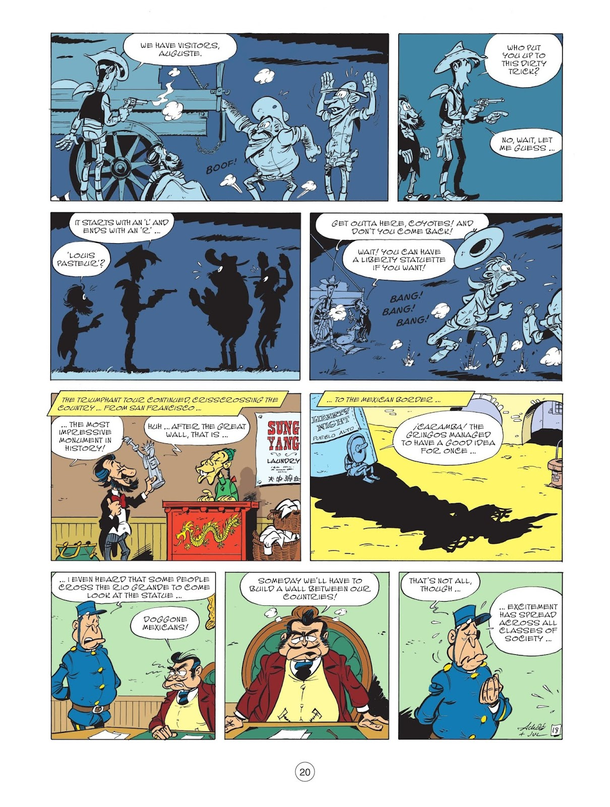 A Lucky Luke Adventure issue 71 - Page 22