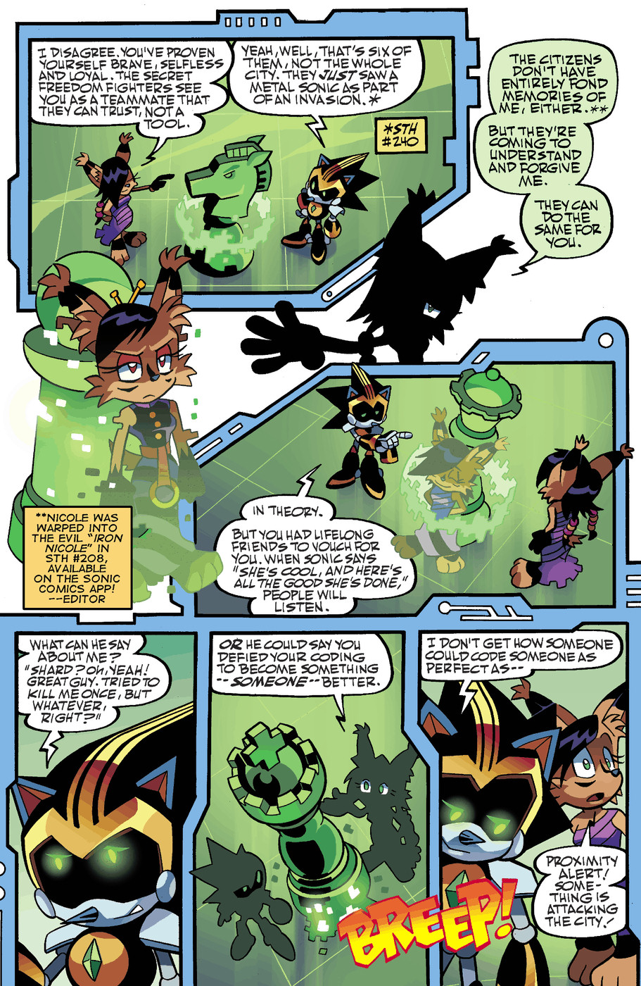 Read online Sonic Universe comic -  Issue #50 - 10