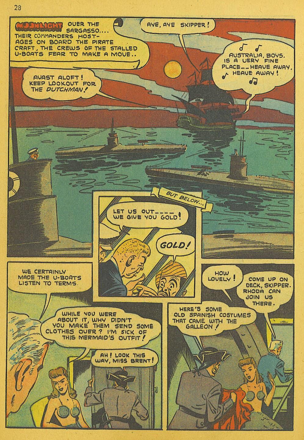 Read online Super-Magician Comics comic -  Issue #10 - 28