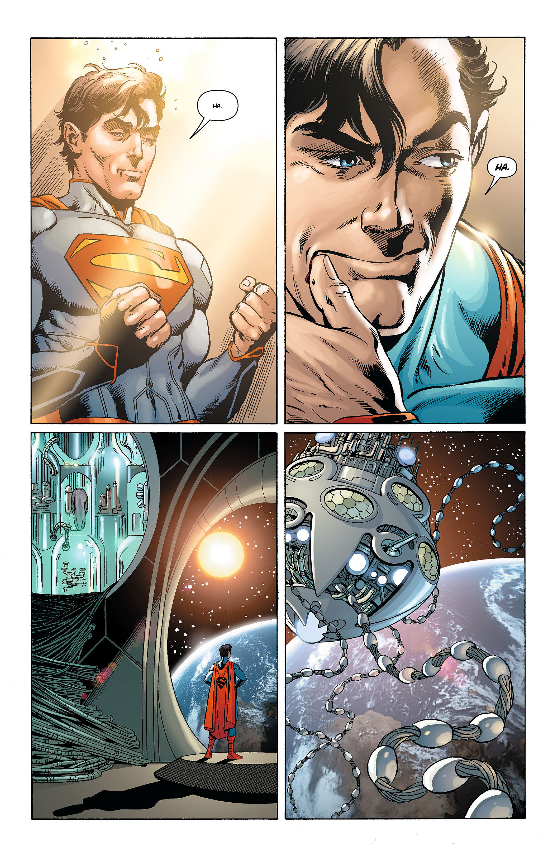 Read online Action Comics (2011) comic -  Issue #8 - 19