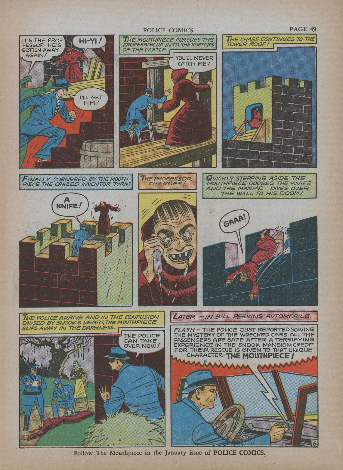 Police Comics issue 5 - Page 53