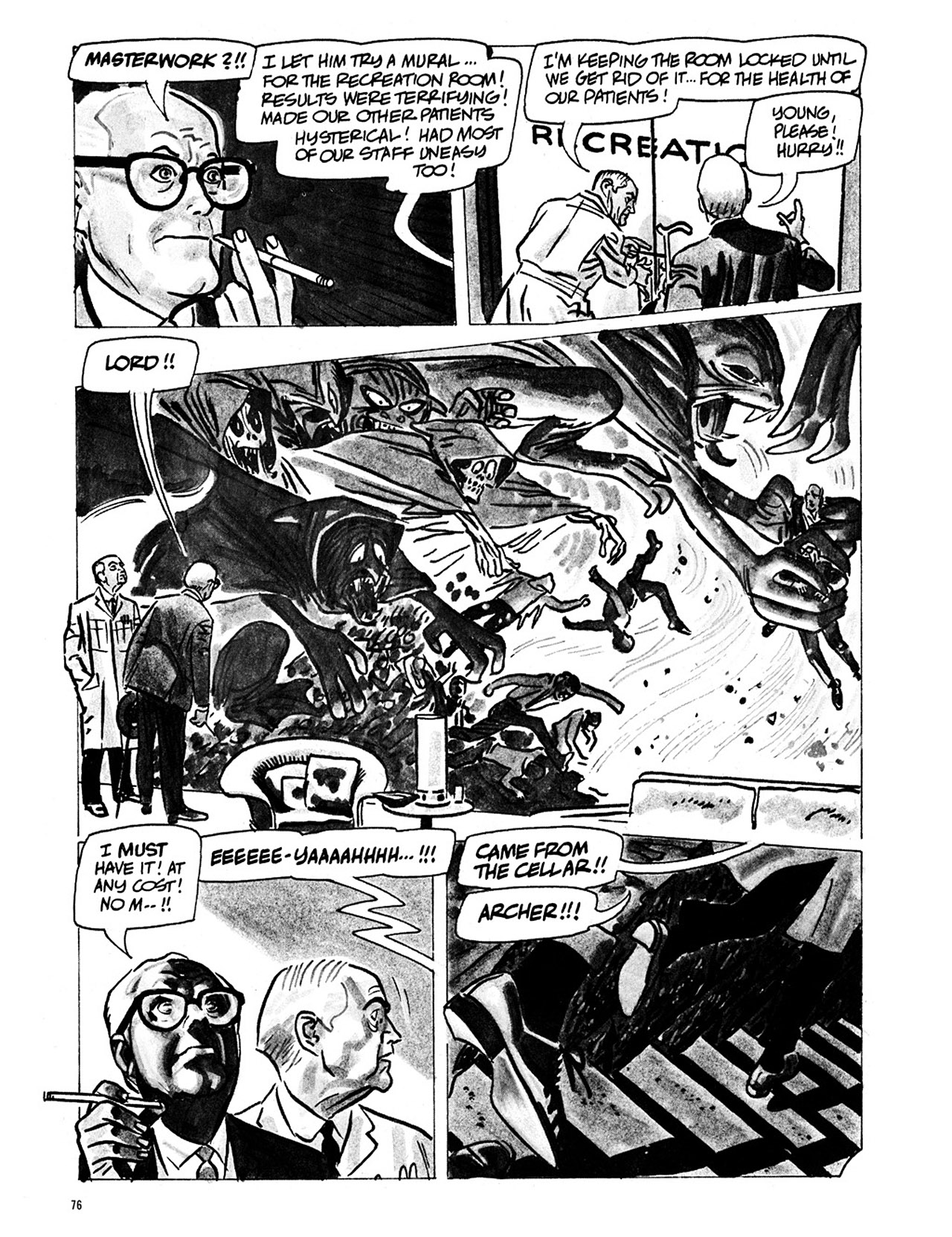 Read online Eerie Archives comic -  Issue # TPB 1 - 77