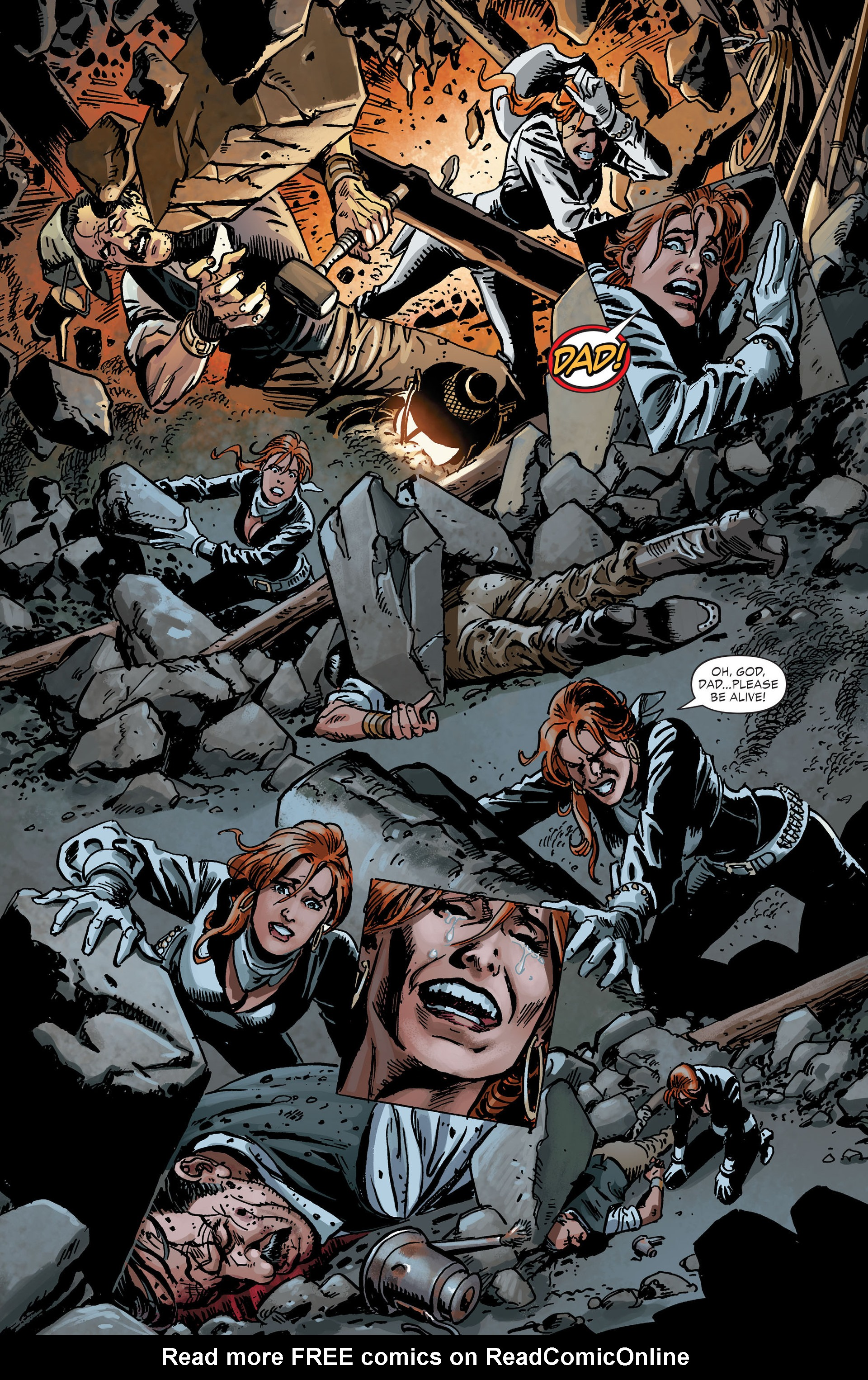 Read online All-Star Western (2011) comic -  Issue #30 - 21