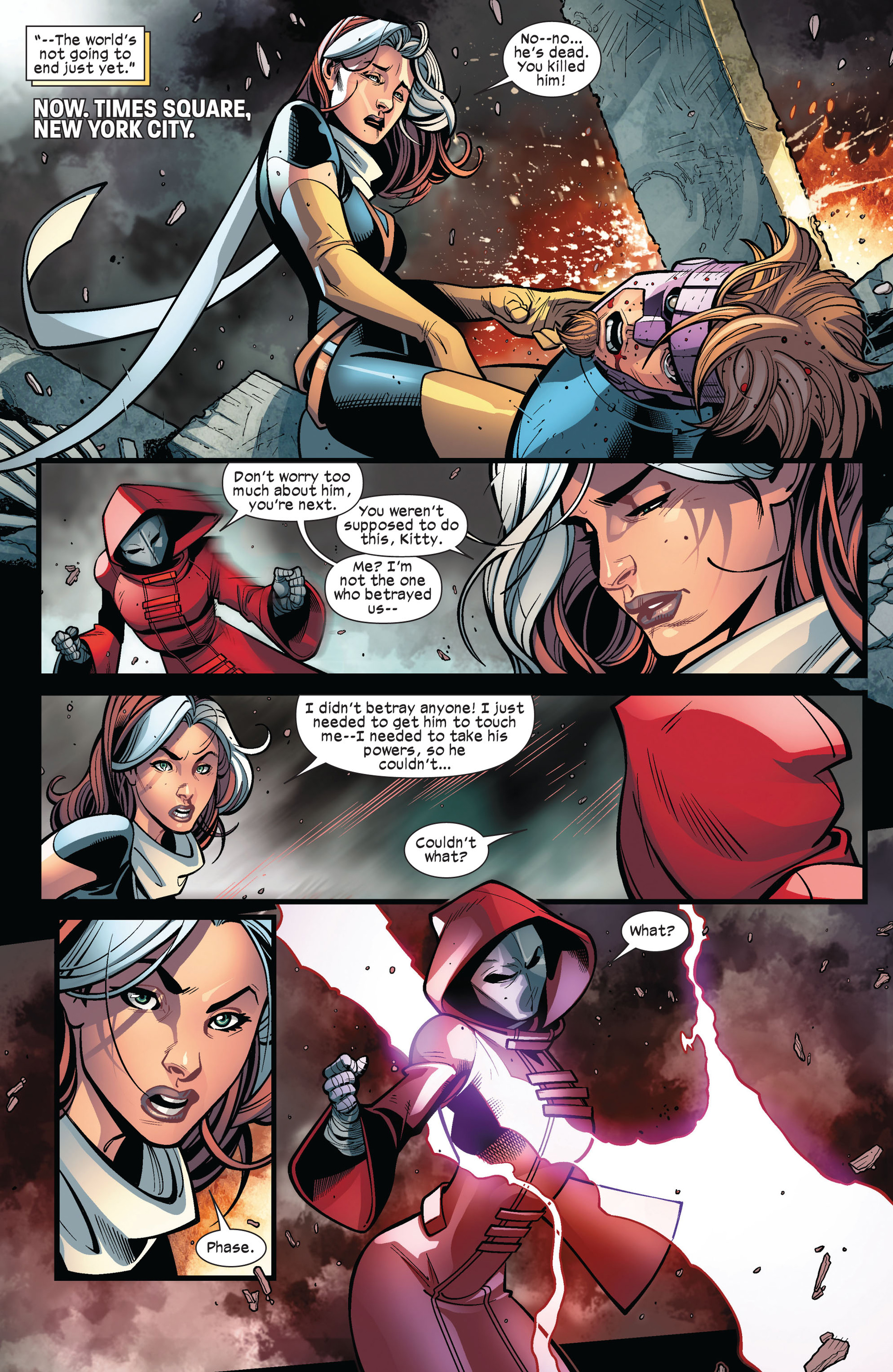 Read online Ultimate Comics X-Men comic -  Issue #6 - 5