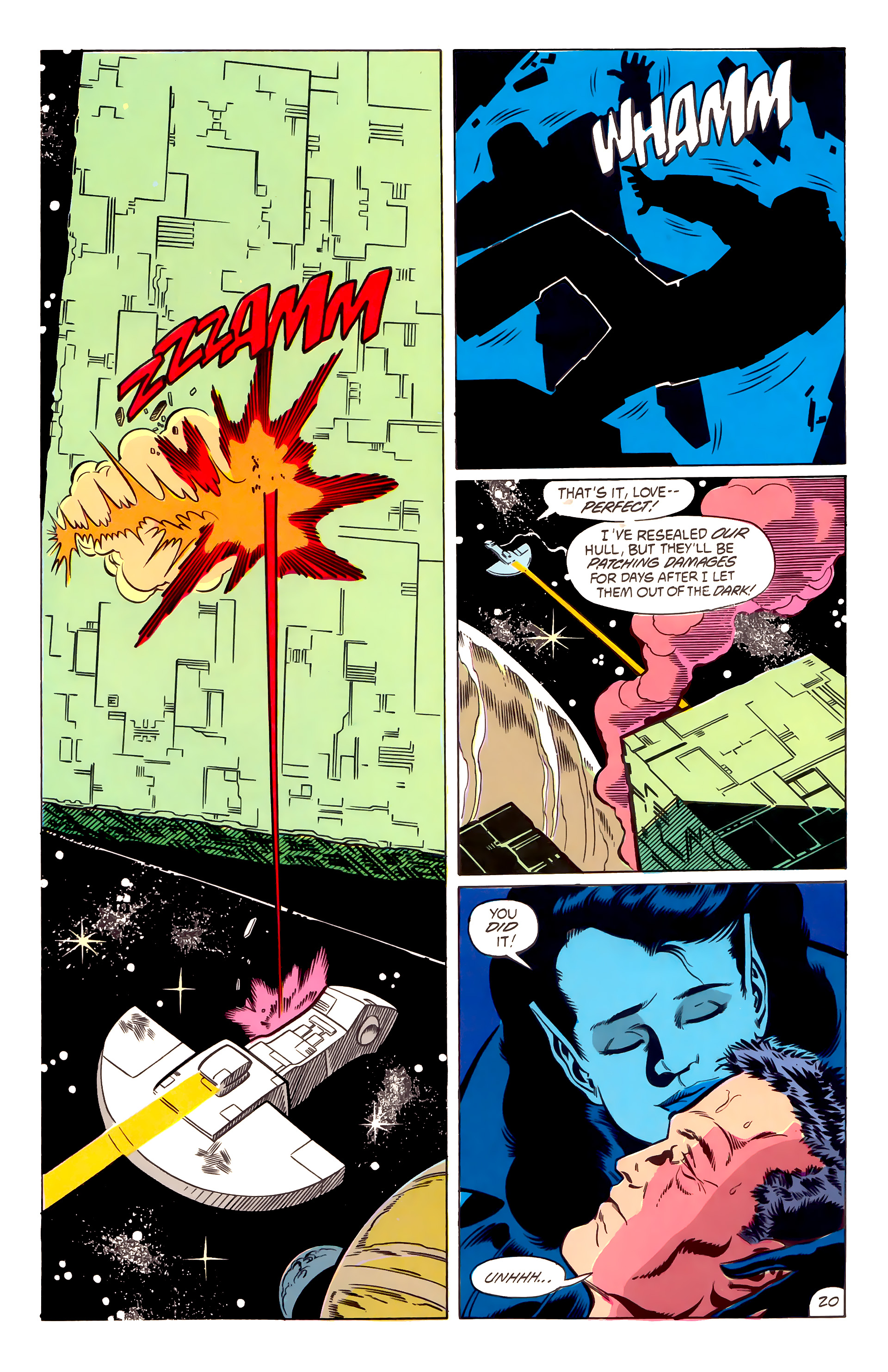 Legion of Super-Heroes (1984) 53 Page 20