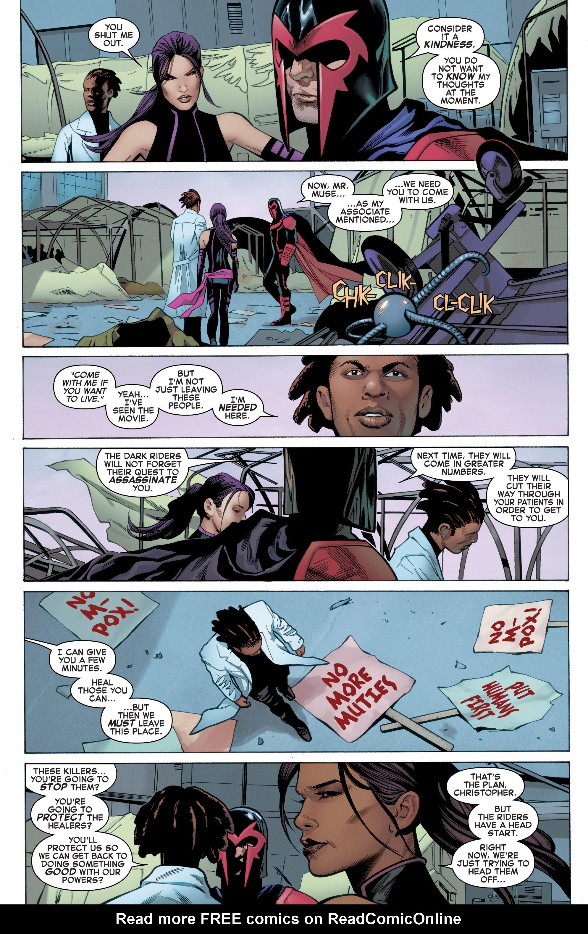 Read online Uncanny X-Men (2016) comic -  Issue #3 - 12